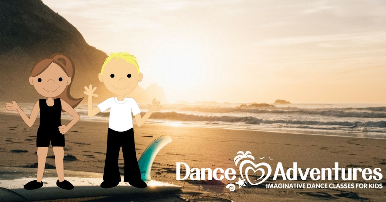 The Beach Dance Adventures Ages 6 - 12