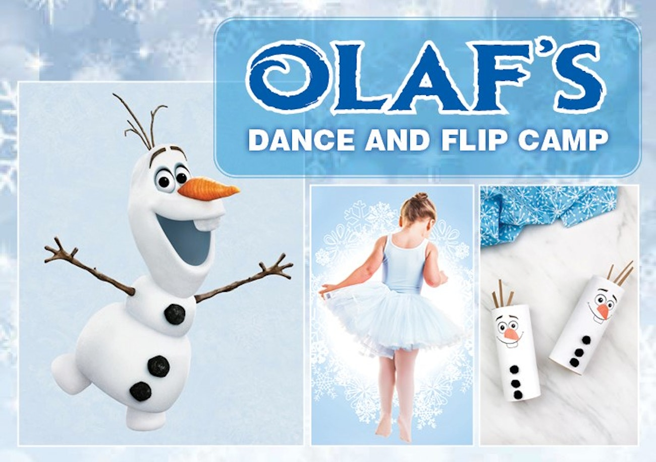 Olaf's Dance and Flip Camp - July 6-10, 2020