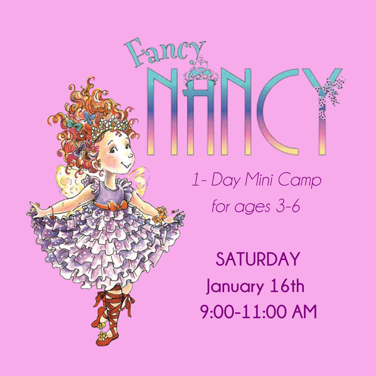 Fancy Nancy Camp