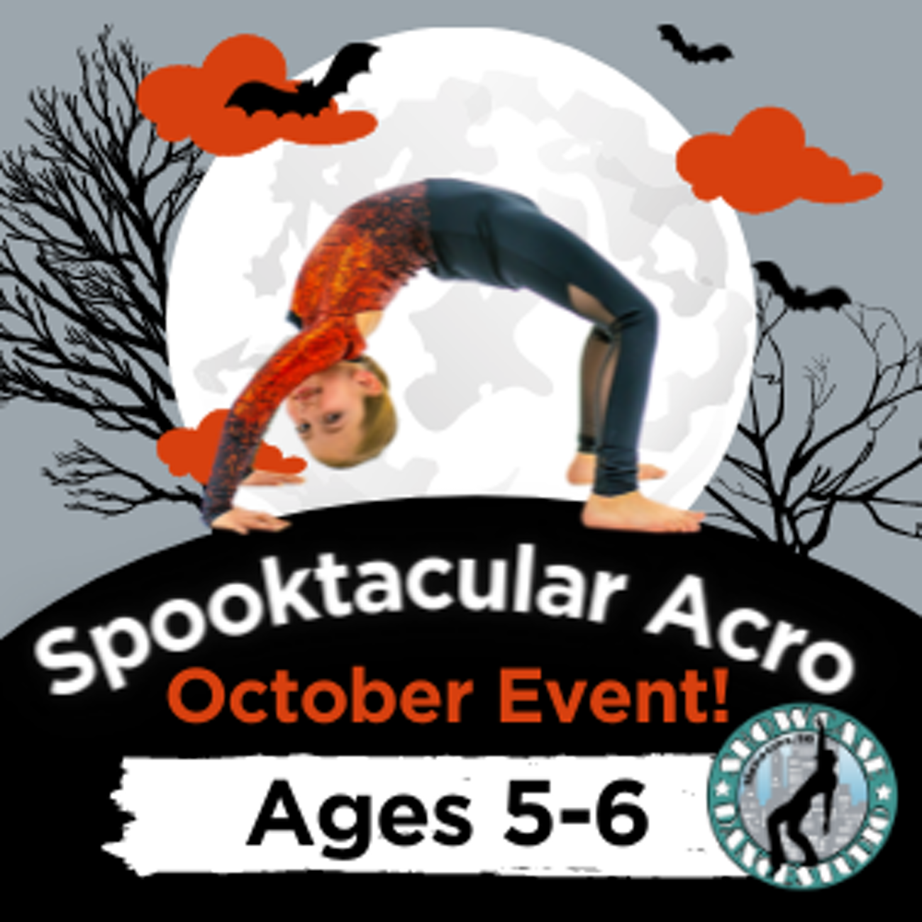 Spooktacular Acro October 19th & 26th Event!